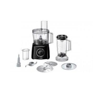 Bosch MCM3201B Kitchen machineMultiTalent 3 800 W Siyah, Siyah