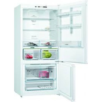 Bosch KGN86DWF0N Serie   6 Alttan Donduruculu Buzdolabı186 x 86 cm Beyaz