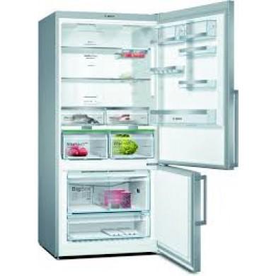 Serie   6 Alttan Donduruculu Buzdolabı186 x 86 cm Kolay temizlenebilir Inox KGN86AIF0N