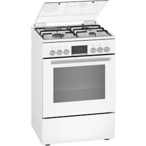 Bosch HXC390G20T Serie | 6 Gazlı/Elektrikli Solo Fırın60 cm Beyaz