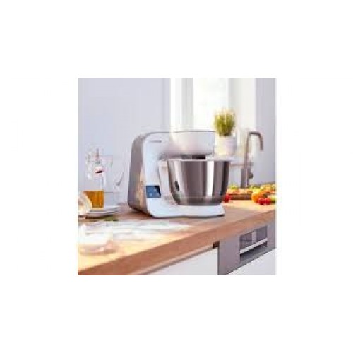Bosch MUM5XW20 Kitchen machineMUM5 scale 1000 W Beyaz,champagne