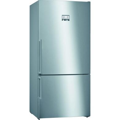 Bosch KGN86AI42N Serie | 6 Alttan Donduruculu Buzdolabı186 x 86 cm Paslanmaz çelik (parmak izi bırakmaz)