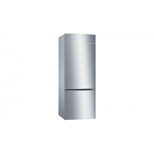 Bosch Serie | 2 Alttan Donduruculu Buzdolabı 185 x 70 cm Paslanmaz çelik (parmak izi bırakmaz) KGN57VI22N