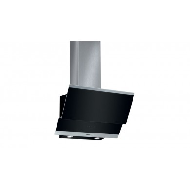 Bosch DWK065G60T Serie   4 Duvar Tipi Davlumbaz 60 cm clear glass black printed