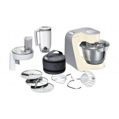 BOSCH  MUM58920    Kitchen machine MUM5 1000 W Bej, Gümüş