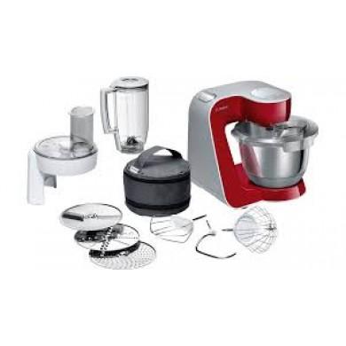 Bosch MUM58720 Kitchen machineMUM5 1000 W Kırmızı, Gümüş